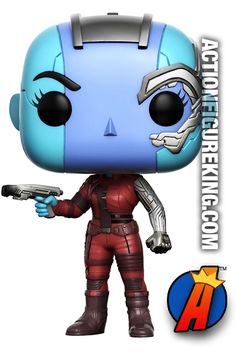 #Marvel #GuardiansOfTheGalaxy Vol. 2 #NEBULA #Figure. Quickly and easily search thousands of new and vintage #Collectibles #Toys #ActionFigures and more here… http://actionfigureking.com/list-3/funko-toys-collectibles-and-figures/funko-pop-marvel/funko-pop-marvel-guardians-of-the-galaxy-vol-2-nebula-figure-203