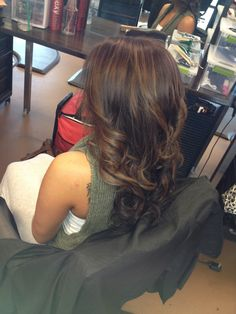 Brunette with balayage h/l