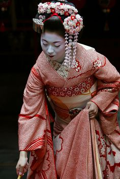 kimika of miyagawa-cho as maiko (2005) | japanese culture #kimono