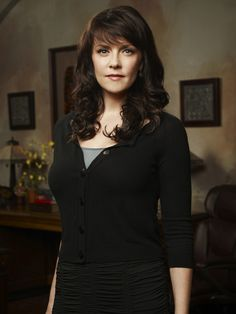 Amanda Tapping, especially as Dr. Helen Magnus