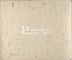 Symington Corset Pattern 1894-1901