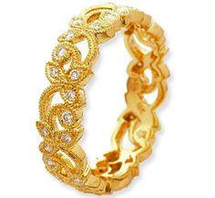 David Ungar London - Ungar and Ungar Designer Antique Style Diamond Ring
