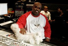 cee lo green and his cat