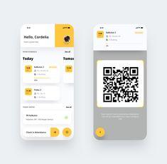 Student Portal – Mobile App Exploration Clean Version by Setyono Dwi … – Design is art Web Design, Design Social, App Ui Design, User Interface Design, Design Color, Flat Design, Ui Design Mobile, Mobile Ui, Flat Ui