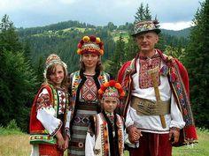 Hutzel family, Carpathian mountains, Ukraine.