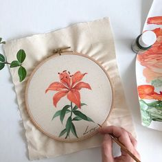 Painting Patterns, Fabric Painting, Coin Purse, Diy Projects, Photo And Video, Flowers, Bags, Instagram, Videos