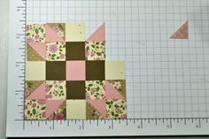 Splitcoaststampers - Tutorials--making a quilt out of paper pieces