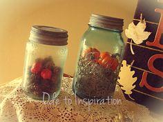 Thanksgiving Turquoise Jars