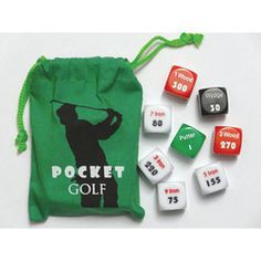 A great gift for any golf fan. In the Golf Pocket Sports Game you play a round of 18 holes and try to beat par. Perfect game to play at the hole. Best Gifts For Him, Perfect Gift For Him, Quirky Gifts, Unique Gifts, Mini Golf Set, Unusual Gifts For Women, Presents For Men, Experience Gifts