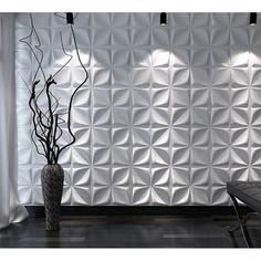 Decorative Wall Panels Textured Wall Covering, White, 12 Tiles 32 Sq Ft in Wallpaper. Decor, Vinyl Wall, Interior Wall Decor, 3d Wall Panels, Diy Headboard, Wall Covering, Wallpaper Panels, Mother Of Pearl Backsplash, Wall Paneling
