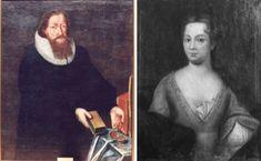 Anne Pedersdotter og Absalon Pederssøn Beyer er mine forfedre. Hvor kult er ikke det? :-) Mona Lisa, Artwork, Painting, Work Of Art, Painting Art, Paintings, Painted Canvas