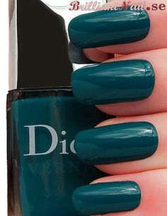 Nirvana is a creamy turquoise-green from Dior's Rock Your Nails Collection