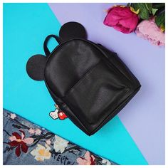 Love my Mickey Mouse bag from @primark! I'm Disney obsessed   I've posted about this bag and more of my favourite products from last month on my blog link is in my bio. Featuring stuff from @toofaced @dyson @katvondbeauty @kyliecosmetics and loads more brands!  #planoly