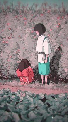 spirited away // haku & chihiro 🌼 #foryoupage #fyp #spiritedaway #ghibli #amv #foryou #anime Anime Wallpaper Live, Wallpaper, Anime Scenery, Studio Ghibli, Anime, Anime Characters, Aesthetic Anime