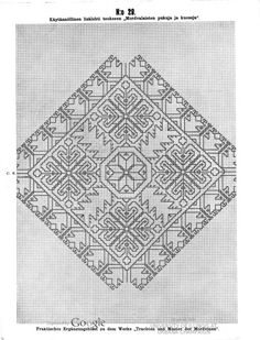 Käytännöllisiä lisälehtiä teokseen Mordvalaisten pukuja ja kuoseja - Praktische Ergänzungsblätter zu dem Werke Trachten und Muster der Mordvinen - (59 of 97) (No 29 of No 45)