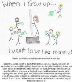When I Grow Up....#funny test answers - ohhh my gosh I can't stop laughing
