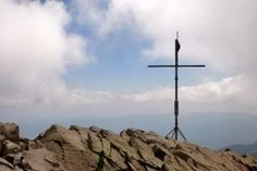 Das Gipfelkreuz – Wandern im Montseny