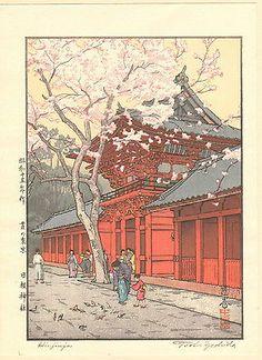 Toshi Yoshida Japanese Woodblock Print | eBay