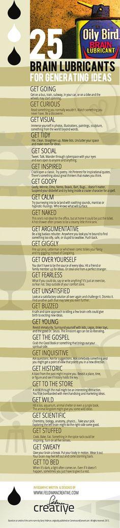 25 tips para generar ideas