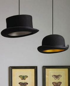 The Innermost Jeeves Bowler Hat is a classic example of contemporary design. The iconic design from Jake Phipps was originally made famous by Charlie Chaplin among others. It's stunning and unique design with golden inner shell will create a real atmosphere in a contemporary interior.