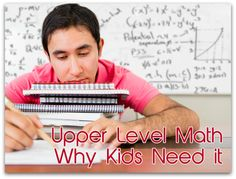 Upper Level Math − Why Kids Need it and How You Can Facilitate It • Alesia Blackwood