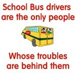 If this is talking about the kids being trouble then I'm lucky to have the best kids on my bus! I love my bus kids! Bus Humor, School Humor, Funny School, School Bus Driver, School Buses, Bus Safety, School Days, School Stuff, Bus Life