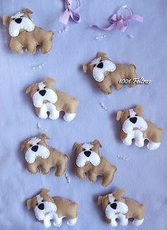 1001 Feltros: cachorro