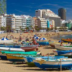 Las Canteras Beach. Las Palmas de Gran Canaria.
