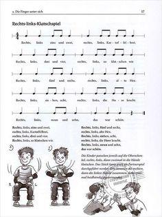 Bild … - Everything About Kindergarten Kindergarten Songs, Kindergarten Portfolio, Music For Kids, Kids Songs, Primary School, Pre School, Crafts For 2 Year Olds, Rhymes For Kids, Tabu