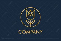 Logo for sale: Royal Flower Logo