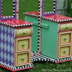 I had this actual dresser in my room when I was young.  It wasn't painted like this tho!
