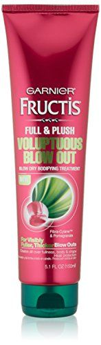 nice Garnier Hair Care Fructis Voluptuous Blow-Out, Visibly Fuller/Thicker Blow Outs, 5.1 Fluid Ounce