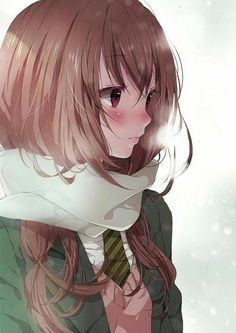 Find images and videos about anime, kawaii and manga on We Heart It - the app to get lost in what you love. Fan Art Anime, Anime Artwork, Anime Art Girl, Anime Girls, Manga Girl, Manga Kawaii, Kawaii Anime Girl, Pretty Anime Girl, Beautiful Anime Girl