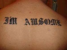 misspelled tattoos - that's the worst
