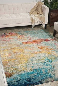 Features: Polypropylene fibers ensure soft and plush touch This rug is stain resistant, fade resistant, no shedding, and easy to clean Style: Modern, Contempor