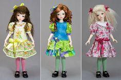 Easy KID Dress Pattern - Tutorials - Antique Lilac