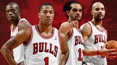 Loul Deng, Derrick Rose, Joakim Noah, Carlos Boozer - Chicago Bulls