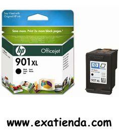 Ya disponible Cartucho HP cc654ae 901xl negro alta capacidad   (por sólo 34.89 € IVA incluído):   -Compatible con: HP Officejet J4580/4660/4680 -Color: Negro -Alta capacidad (700 páginas aprox.)   Garantía de fabricante  http://www.exabyteinformatica.com/tienda/4373-cartucho-hp-cc654ae-901xl-negro-alta-capacidad #hp #exabyteinformatica