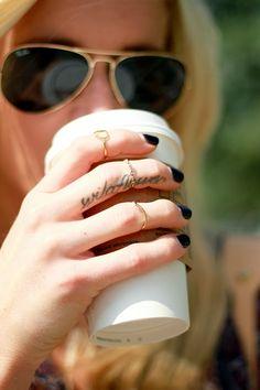 finger tattoo #katalinagirl #fashion #fall #blogger