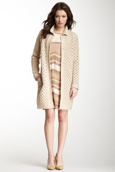 M Missoni Crochet Knit Coat by M Missoni, HUGO BOSS & More on @HauteLook