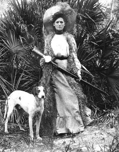 Doing a little bird hunting back in the day ... It's me in a past life!