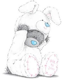 Tatty Teddy Images with Comments | Tatty Teddy Image Easter clipart ideas                                                                                                                                                      More