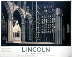 Lincoln Cathedral Its Quicker By Rail