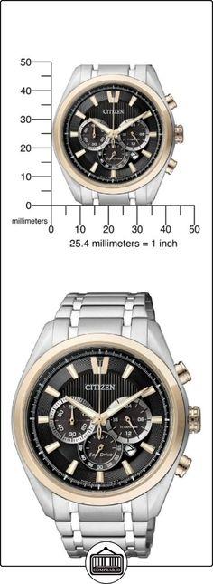 Citizen  Super Titanium - Reloj de cuarzo para hombre, con correa de titanio, color plateado  ✿ Relojes para hombre - (Gama media/alta) ✿