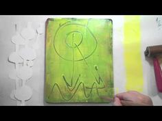 Video Tutorial by Julie Balzer! 3 Layer Gelli Printing with the Brother ScanNCut