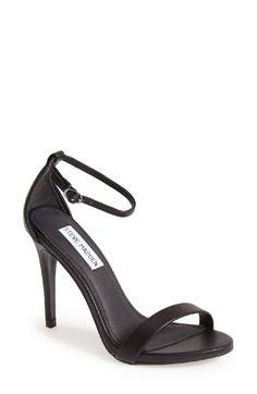 Black high heel sandal from steve madden