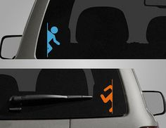 Decal Stickers Decal Stickers Pinterest Car Decal Window - Portal 2 wall decals