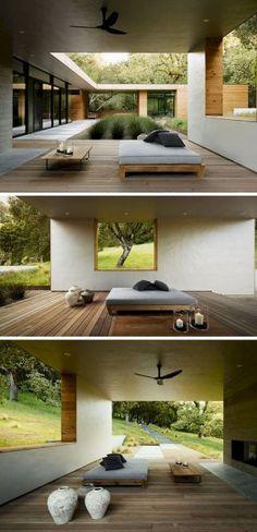 Impressive Outdoor Living Space Idea 40