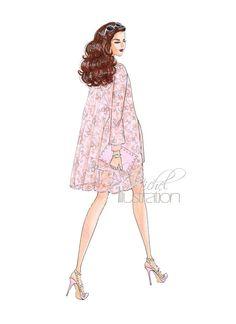 Fashion Illustration by M.Michel Illustration