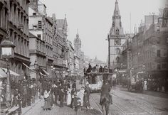 Trongate, Glasgow 1800s | Flickr - Photo Sharing!